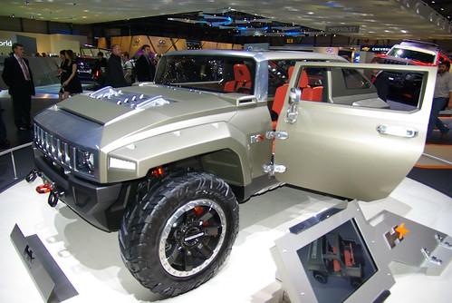 Новый Hummer 2008