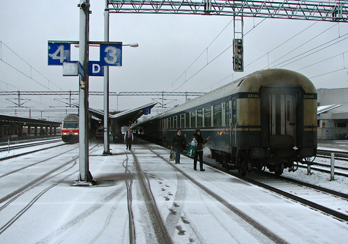 IMG44012. Express train, Kouvola