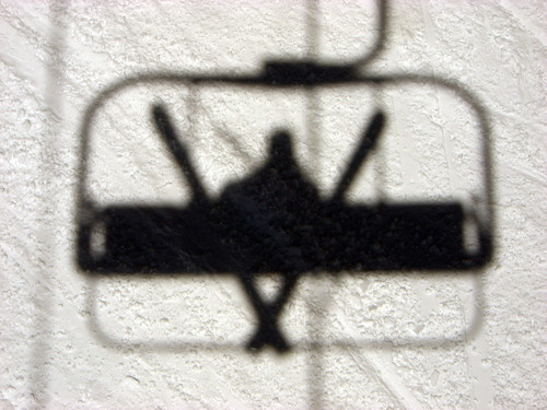 Ski Lift  Self Portrait