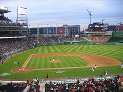 Nationals Park, March 29, 2008