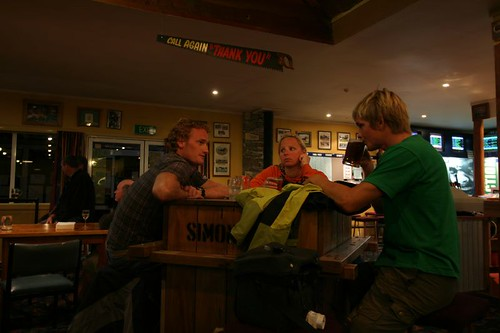 Hanging out in Twizel with Teun & Imke (Holland)...