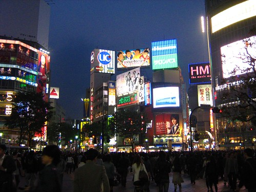 Shibuya at night 3