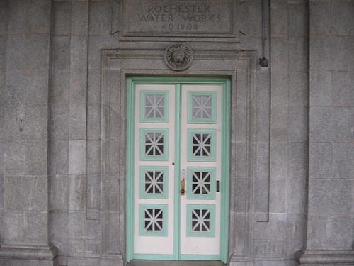 Door in the Cobbs Hill Building