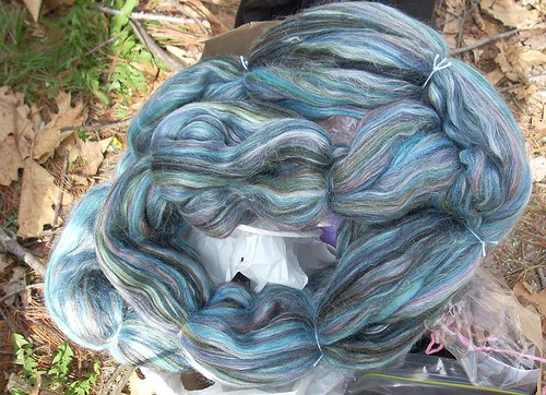 Merino/tussah from Sheep Shed