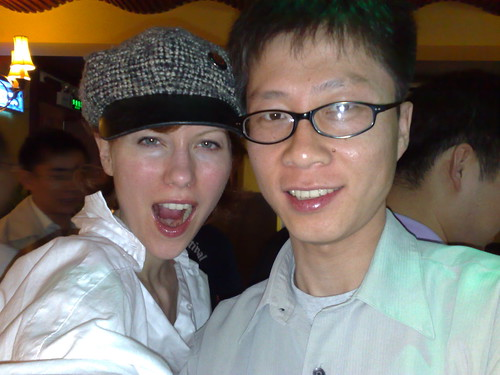 Mobile Interner Browser - 05-18 - (12) Anina (360Fashion Founder) and 杨培锋 Allen(LemonQurest CEO)