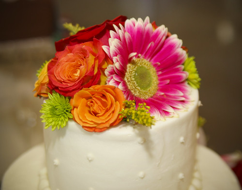 Fresh Flower Wedding Cakes