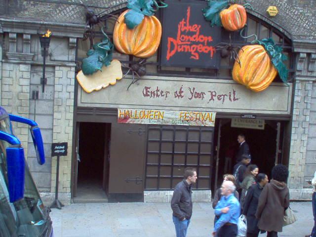 Europe 2005  London Dungeon