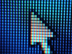 Puntatore (deramko) Tags: man macro mouse pointer poor icon led pixel lcd colourartaward