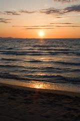 Coucher de soleil sur la mer Toscane par Jean-Philippe Caruana