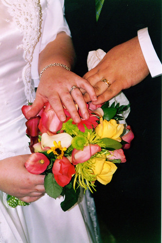 Rings & Bouquet