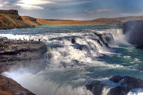 Gullfoss Iceland (HDR)