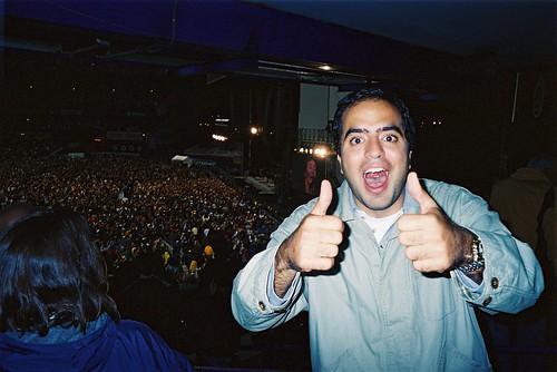 Nacho en el Shea Stadium