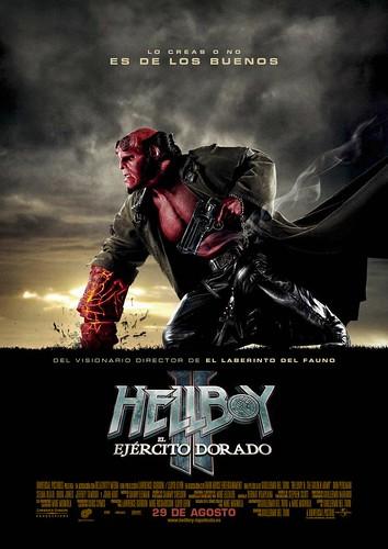 Poster Hellboy 2 el ejército dorado