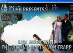 Live performance Virtual Family Von Trapp @ SL5B cancelled (b)
