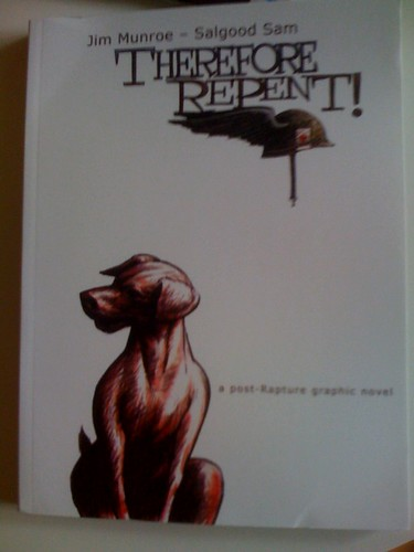 got my copy of therefore repent today