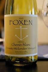 2005 Foxen Ernesto Wickenden Vineyard Chenin Blanc