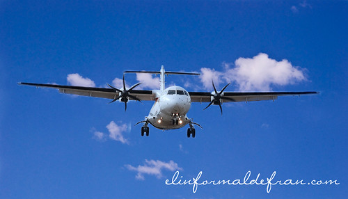 avión -1º