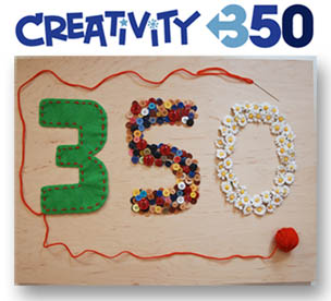 Creativity 350 logo