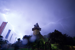 Lightning over Graz