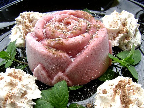 Frozen Strawberry-Raspberry Yoghurt