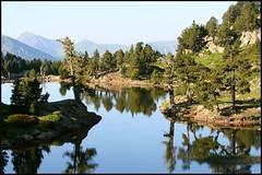 Lac Achard (Mr Gourmand) Tags: mountain lake france alps reflection montagne alpes lac chamrousse blueribbonwinner lacachard francelandscapes