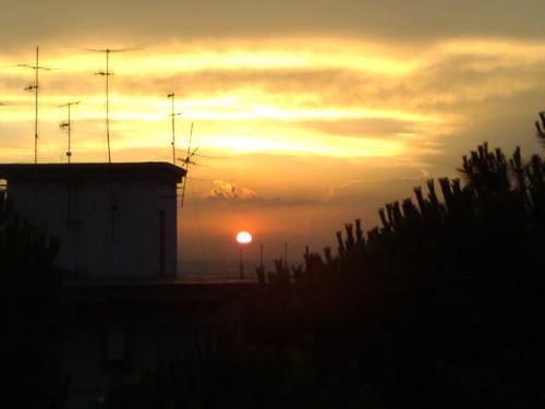 tramonto napoletano