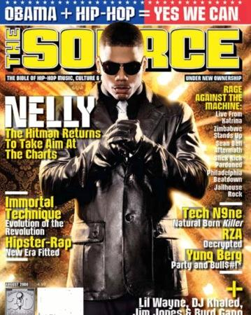 nelly the source magazine cover
