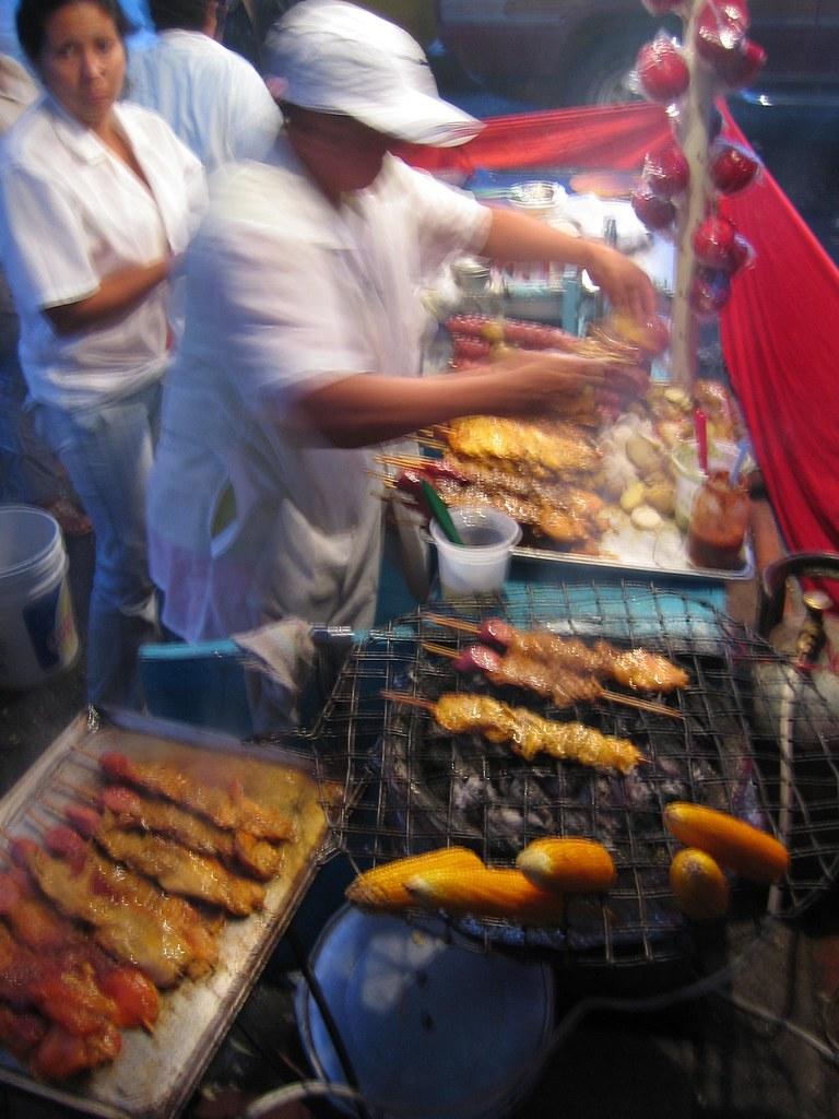 Merida street food, Venezuela