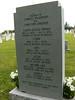Memorial Stone - reverse side