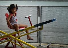 Walang Kalaro (pamsampo) Tags: street girl kids children alone play sony teens sonycybershot stamesa baltao sonyh7 pamsampo