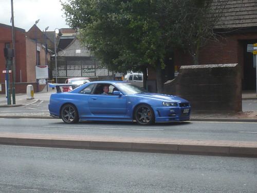 Skyline R34 Blue. Top Secret Skyline R34 GTR