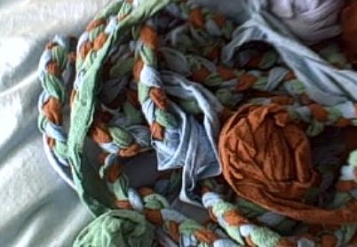 Rags for a rug