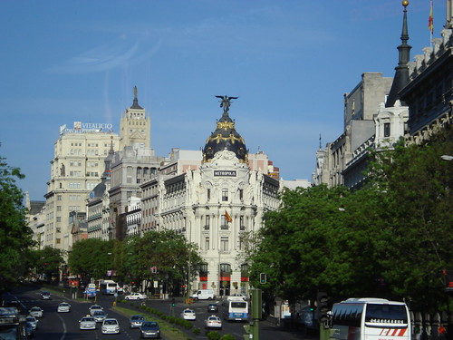 Madrid, Spain - Metropolis Building  by sarahlboyd.