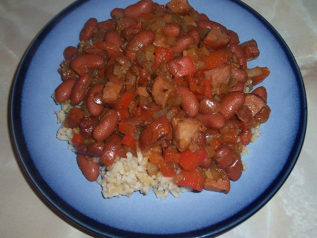 Andouille & Red Beans w Rice