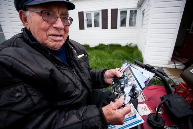 Jim Anderson in Makkovik, Nunatsiavut