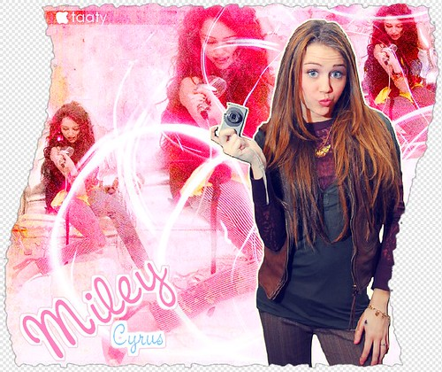 Miley Cyrus by tatywainer.