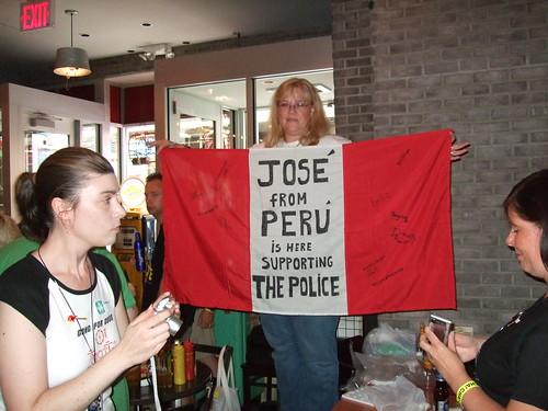 Perú en el último concierto de The Police