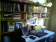 A Good Office: lots of books and stuff