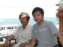 Ba và con trai