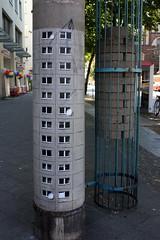 evol (Luna Park) Tags: streetart berlin germany wheatpaste highrise lunapark evol