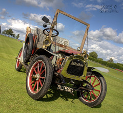 De Dion Bouton - HDR - Revised (Uncle Berty) Tags: show uk england sports beer field car festival club vintage de fun day social berty 2008 brill hdr dion smalls clasic bouton hp18 robfurminger