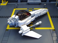 Generics #1 rear (peterlmorris) Tags: toy construction fighter lego howto build instruction moc starfighter