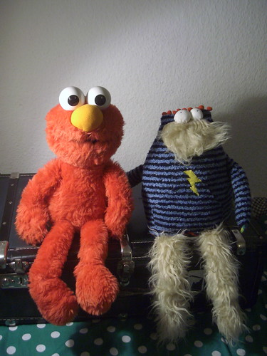 Elmo's new friend.
