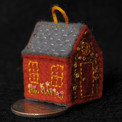 Red Felt House