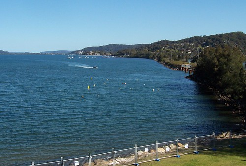 Western side of Brisbane Water from Pacific Hwy Gosford
