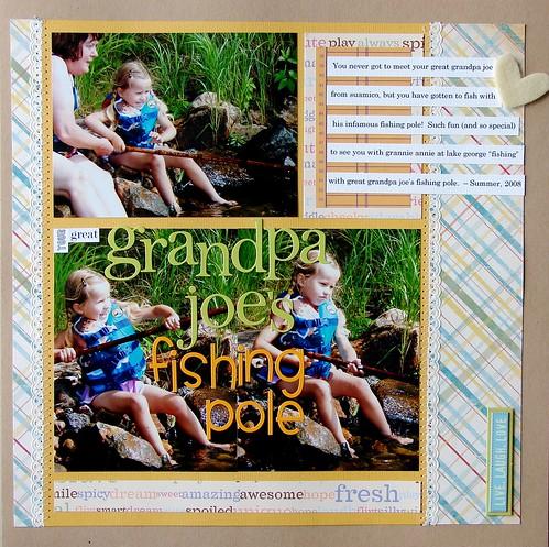 Great Grandpa Joe's Fishing Pole