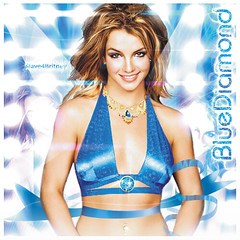Britney Spears BlueDiamond (© Omar Rodriguez V.) Tags: spears popart britney blend artwort slave4britney
