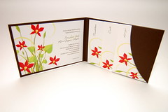 Ka-Bloom Pocketfold Invitation