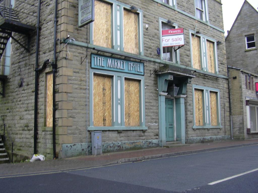 """""""The Market Hotel"""" (Pub) Bacup, Rossendale, Lancashire"""