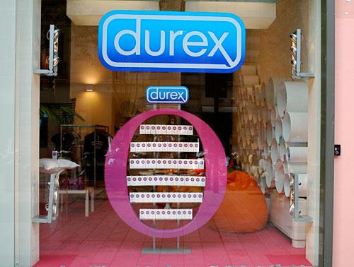 Durex Temporary Store Window